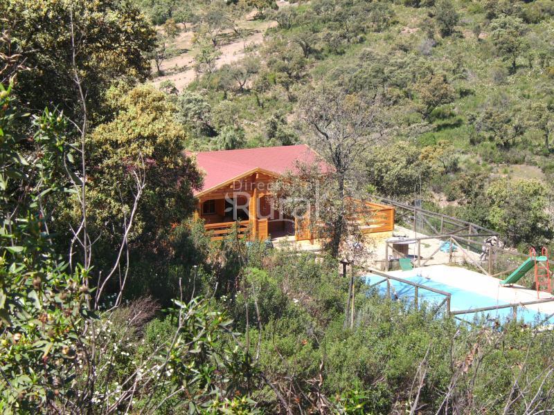 La casita de madera casa rural en castilblanco de los - La casita de madera ...