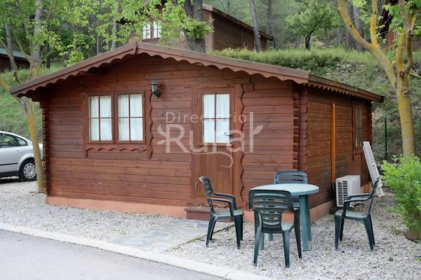 Caba a de madera caba as bungalows en gaibiel castell n for Oferta cabanas de madera